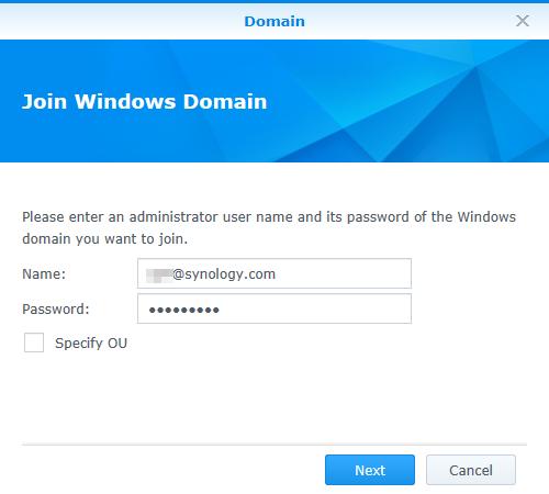 如何使用 Microsoft Azure AD Domain Services 在 Synology
