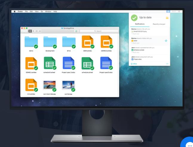 Synology 产品支持多少共享文件夹同步任务?