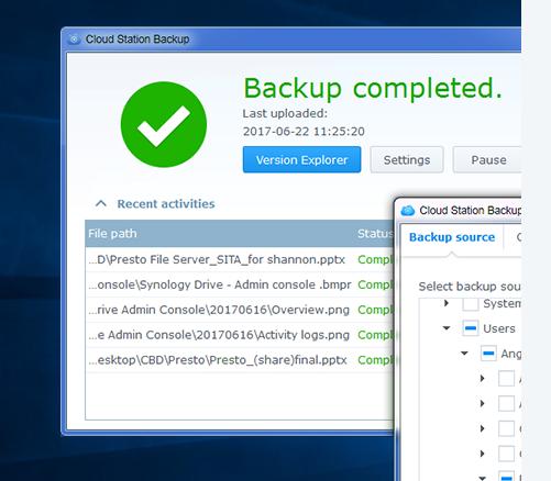 如何通过 Active Backup for Business 备份和还原 Micro